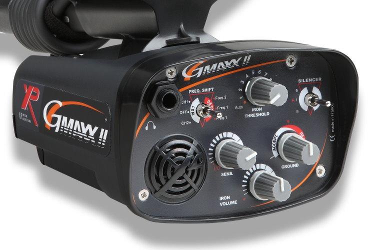 Metalldetektor XP G-MAXX II mit 27cm DD Spule